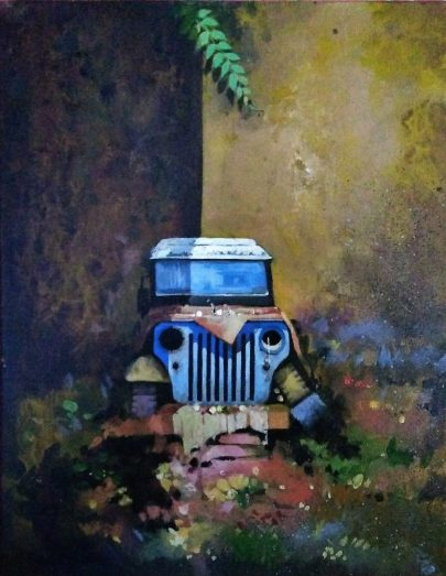 """Backyard Abandon"" by Yatiraj, Bidar"